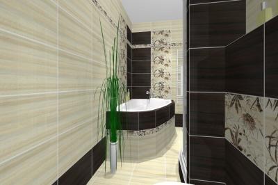 Koupelny vizualizace